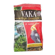 Купить Корм Vaka для Средних Попугаев <b>High Quality</b> 500г с ...