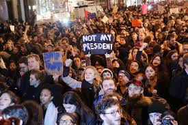 Image result for trump go away , protests