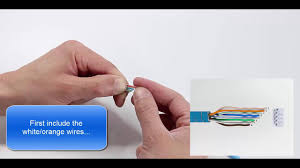 how to terminate a modular plug on <b>solid CAT6</b> F/UTP ? - YouTube