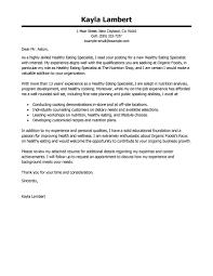 cover letter for law enforcement sample sample center technician cover letter examples wellness cover letter samples livecareer