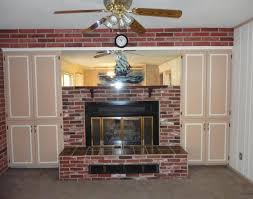 outdated fireplace screen brick surround brass ceiling fan phoenix arizona home house for sale real estate ceiling fans ugly