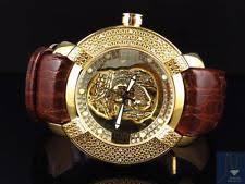 kc techno watches mens new aqua master jojo joe rodeo techno kc jesus w 96 yellow diamond watch