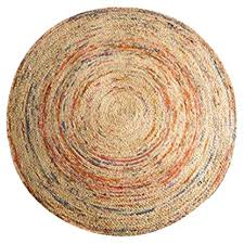 Round Carpet Nordic Style Natural Jute Hand-Woven ... - Amazon.com