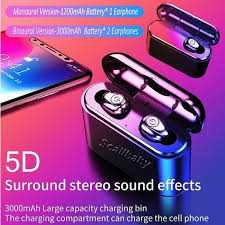 2019 <b>X8</b> Portable <b>TWS</b> Bluetooth 5.0 <b>True Wireless</b> Waterproof ...
