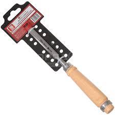 Долото-<b>стамеска</b> Bartex с деревянной рукояткой, 10 мм в ...