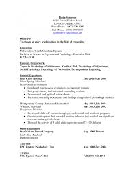 bachelor of psychology resume experience resumes bachelor of psychology resume