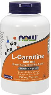 Now Foods L-Carnitine 500 mg 180 Capsules: Health ... - Amazon.com
