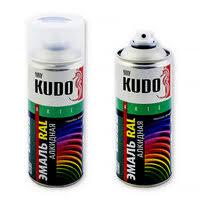 «<b>Универсальная алкидная</b> краска-<b>эмаль</b> Kudo RAL, аэрозоль ...