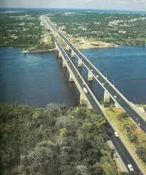 Resultado de imagen para puentes sobre el rio caroni puerto ordaz