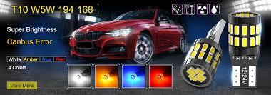 10pcs W5W <b>T10</b> Canbus Car <b>LED Bulb</b> for Honda Civic <b>2018</b> 2012 ...