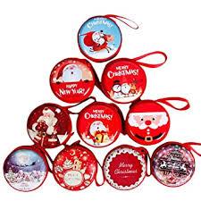 Buy Coxeer 3PCS <b>Christmas Earbud Case</b> Lovely Mini Portable ...