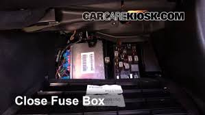 interior fuse box location chevrolet corvette  interior fuse box location 1997 2004 chevrolet corvette 2002 chevrolet corvette 5 7l v8 hatchback