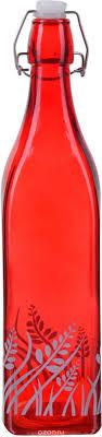 Купить <b>Бутылка Loraine</b>, цвет: красный, 1 л в интернет-магазине ...