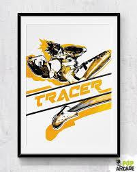 <b>Overwatch</b> Tracer print/<b>poster</b> by PopArcade on Etsy   <b>Overwatch</b> ...