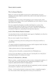 doc 9901281 example resume resume objective for job photo job resume objective statement