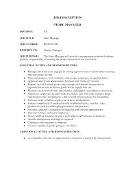 store clerk job description resume  seangarrette cosales resume retail store manager job description retail sales