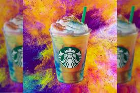 Starbucks' <b>new Tie</b>-<b>Dye</b> Frappuccino is gross and yellow