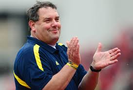 Image result for brady hoke clapping gif