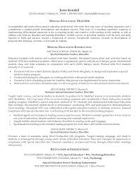 example resume education example of summary for resume with    resume  education coordinator