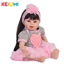 <b>KEIUMI</b> Collection <b>22</b>'' <b>Soft</b> Silicone Vinyl Reborn Girl Baby Doll <b>55</b> ...