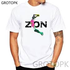 Zion Williamson <b>T Shirt</b> Men'S Cotton Casual Funny <b>White T Shirt</b> ...