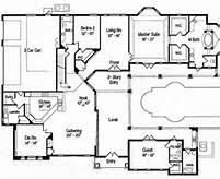 Inspiring Home Plans With Pool   Luxury House Plans With Pools        Beautiful Home Plans With Pool   Pool House Plans With Courtyard