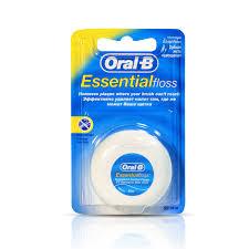 Зубная <b>нить</b> Oral-B Essential floss невощеная <b>50</b> м — купить в ...