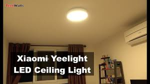 <b>Xiaomi Yeelight Smart</b> LED <b>Ceiling</b> Light Review - YouTube