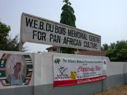 w e b du bois stardust s shadow sign for web dubois memorial centre for pan african culture accra