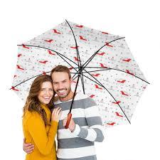 """Зонт-трость двусторонний с деревянной ручкой """"<b>Мезенская</b> ..."""