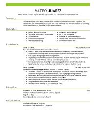 free teacher resume templates teacher resume template 51 teacher education in resume sample