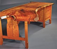wood slab dining table beautiful: catchy custom furniture geoffrey warner studio along together with live edge room table in live edge