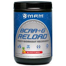 MRM, <b>Reload BCAA</b>+<b>G</b>, <b>Post</b>-<b>Workout Recovery</b>, Island Fusion, 11.6 ...