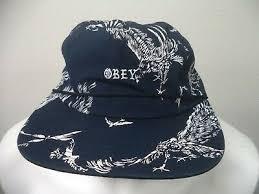 Подчиняться регулируемый Орел печать шляпа.   eBay