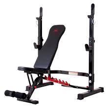 Body Champ Olympic Weight <b>Bench</b> with Rack (<b>2</b>-<b>piece</b> combo ...