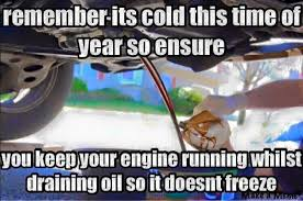 "DO NOT TRY These ""Helpful Winter Auto Tips"" - Gearheads4Life via Relatably.com"