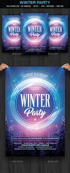 17 best images about poster art advertising psd winter party