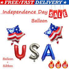 Creative Latex <b>Balloon</b> American Independence Day <b>Aluminum Foil</b> ...
