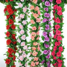 <b>2Pcs</b> Artificial Flowers String Silk <b>Rose</b> High <b>Simulation</b> Low Price ...