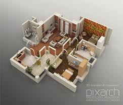 3d floor plans popular home design unique awesome 3d floor plans