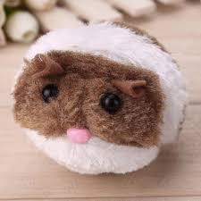 Snailhouse Cute Cat Toys Plush Fur Toy Shake Movement Mouse ...