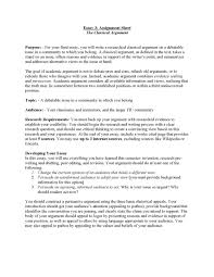 cover letter example essay argumentative example argumentative cover letter example essay argumentative writing classical argument unit assignment pageexample essay argumentative large size