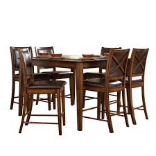 Five Piece Dining Room Sets Nelson 5 Piece Rectangular Dining Set In Cherry 40727 365pc The