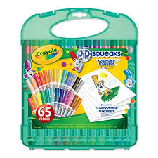 Crayola Pip-Squeaks <b>Washable</b> Markers and <b>Paper</b> Set, Gifting ...