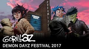<b>Gorillaz</b> - <b>Demon</b> Dayz Festival 2017 (Full Show) - YouTube