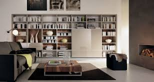 marvelous home library interior design with wall wooden cubicle beauteous gray painted bookshelves and cool dim office home office library decoration modern furniture