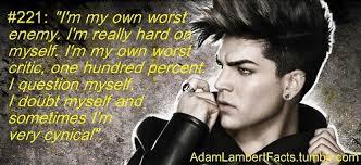 Adam Lambert Image Quotation #2 - QuotationOf . COM