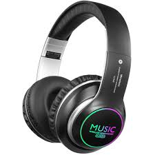 Bluetooth Headphones <b>Over Ear</b>, <b>Folding Wireless</b> Earbuds Noise ...