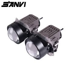 <b>Sanvi 3inch</b> Bi LED Projector Lens Headlight 35W 5500K ...