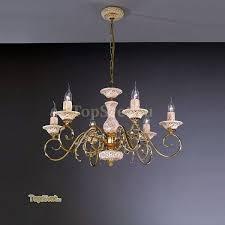 Подвесная люстра <b>La Lampada LAM</b> L 3104/6 GOLD Италия ...
